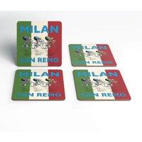 Milan San Remo Coaster Set