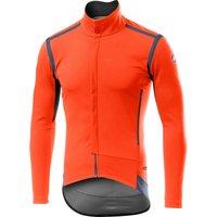 Castelli Perfetto RoS Long Sleeve Jacket - L - Orange