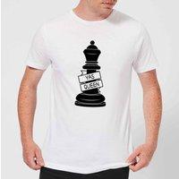 Queen Chess Piece Yas Queen Men's T-Shirt - White - XS - White