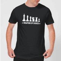 Weapons Of Choice Monochrome Men's T-Shirt - Black - S - Black