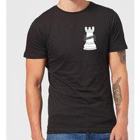Hold Fast Pocket Print Men's T-Shirt - Black - XXL - Black