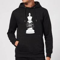 King Chess Piece Hoodie - Black - XXL - Black