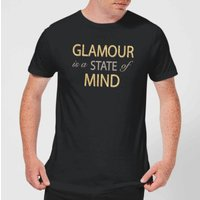'Glamour Is A State Of Mind Men's T-shirt - Black - Xs - Black