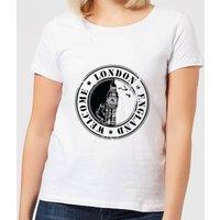 Welcome London England Women's T-Shirt - White - XL - White