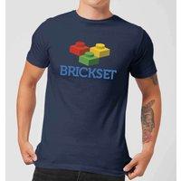 Brickset Logo Men's T-Shirt - Navy - M