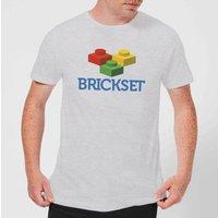 Brickset Logo Men's T-Shirt - Grey - M - Grey