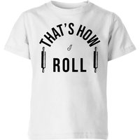 Cooking That's How I Roll Kids' T-Shirt - 3-4 Years - White