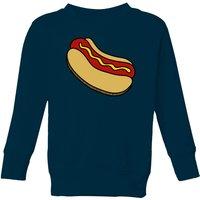 Cooking Hot Dog Kids' Sweatshirt - 11-12 Years - Navy