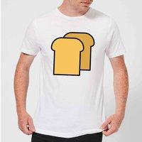 Cooking Toast Men's T-Shirt - XXL - White