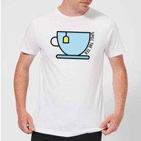 Cooking Spill The Tea Men's T-Shirt - 3XL - White