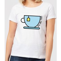 Cooking Spill The Tea Women's T-Shirt - S - White