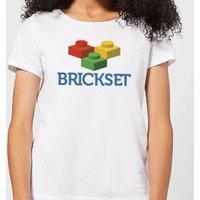 Brickset Logo Women's T-Shirt - White - L - White