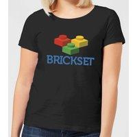 Brickset Logo Women's T-Shirt - Black - S - Black