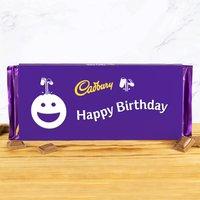 Cadbury Bar 360g - Smiley - Happy Birthday - Cadbury Gifts