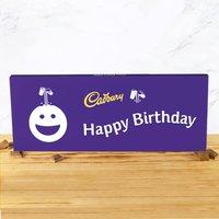 Cadbury Bar 850g - Smiley - Happy Birthday - Cadbury Gifts
