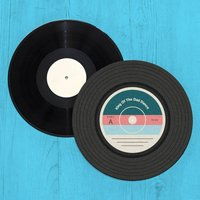 King Of The Dad Dance Vinyl Record Player Slip Mat - Dance Gifts