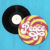 Peace Record Player Slip Mat
