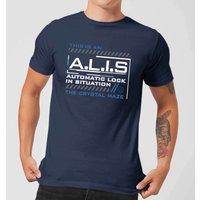 Crystal Maze A.L.I.S. Men's T-Shirt - Navy - XXL - Navy