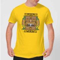 Crystal Maze Aztec Idol Men's T-Shirt - Yellow - XXL - Yellow