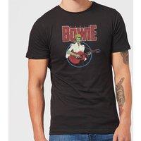 David Bowie Bootleg Men's T-Shirt - Black - XS