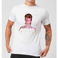 David Bowie Aladdin Sane Cover Men's T-Shirt - White - M - White