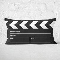 Film Board Rectangular Cushion - 30x50cm - Soft Touch