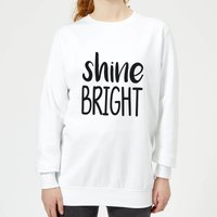 Shine Bright Women's Sweatshirt - White - XXL - White