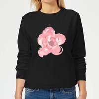 Flower 4 Women's Sweatshirt - Black - M - Black