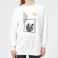 Seaweed Women's Sweatshirt - White - XXL - White