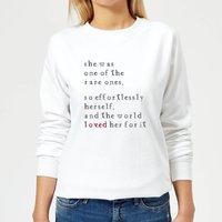 One Of The Rare Ones Women's Sweatshirt - White - M - White