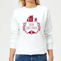 Home Sweet Home Women's Sweatshirt - White - XS - White