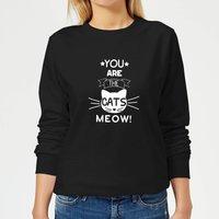 You Are The Cats Meow Women's Sweatshirt - Black - XXL - Black