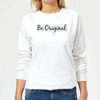 Be Original Women's Sweatshirt - White - S - White