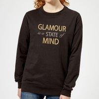 'Glamour Is A State Of Mind Women's Sweatshirt - Black - Xs - Black