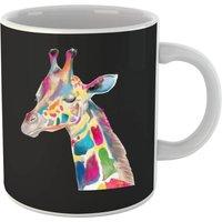 Multicolour Watercolour Giraffe Mug - Giraffe Gifts