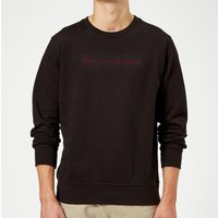 Candlelight Baby It's Cold Outside Sweatshirt - Black - S - Black
