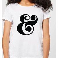 Candlelight & Symbol Women's T-Shirt - White - L - White