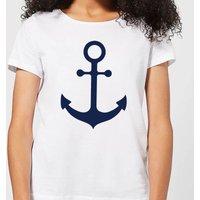 Candlelight Anchor Women's T-Shirt - White - 4XL - White
