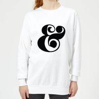 Candlelight & Symbol Women's Sweatshirt - White - XL - White
