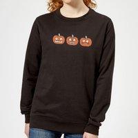 Pumpkins Women's Sweatshirt - Black - XXL - Black