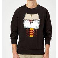 Oktoberfest Ladies Chest Sweatshirt - Black - 5XL - Black - Ladies Gifts