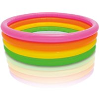 Intex Sunset Glow Kids' Paddling Pool (66 Inches) - Pool Gifts