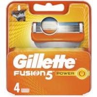 Gillette Fusion5 Power Razor Blades (4 Pack)