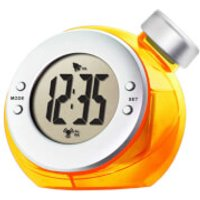 ECO Water Powered Clock - One Size - Orange - Eco Gifts