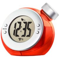 ECO Water Powered Clock - One Size - Red - Eco Gifts