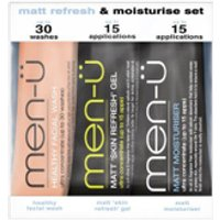 men- Matt Refresh and Moisturise Set - 15ml (3 Products)