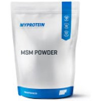 MSM Powder - 250g - Pouch - Unflavoured