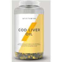 Cod Liver Oil - 90capsules - Unflavoured
