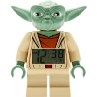 LEGO Clone Wars: Yoda Mini-Figure Clock