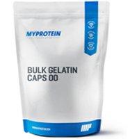 Bulk Gelatin Caps 00 - 1000capsules - Bag - Unflavoured